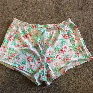 Kids size 14 pyjama shorts from target